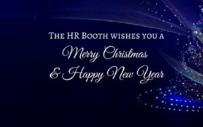 The HR Booth Would Like To Wish You A Merry Christmas